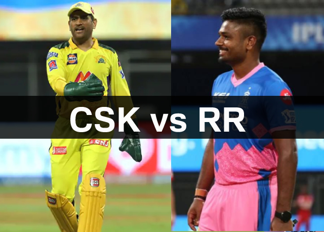 IPL 2021 : CSK vs RR 12th Match Dream11 Prediction and Fantasy Playing Tips