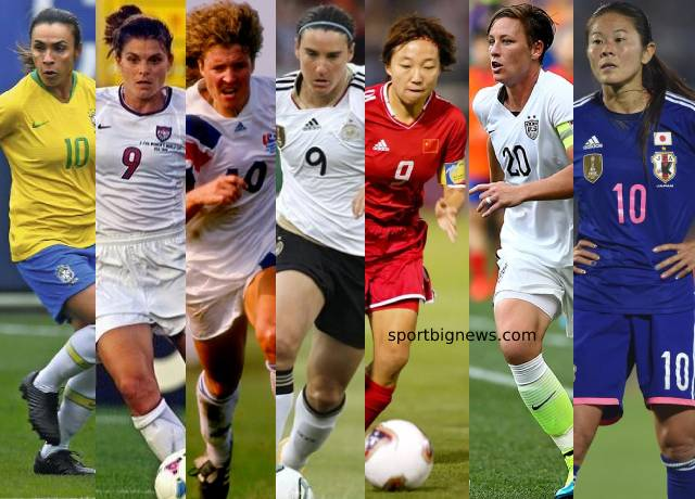 Top 10 greatest female footballers of all time