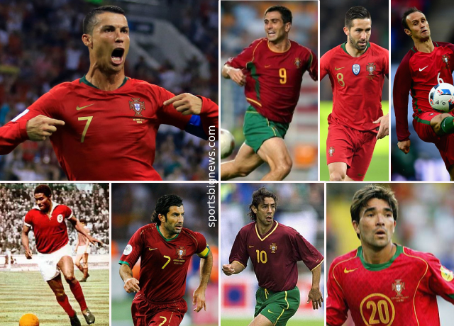 Top 10 greatest Portuguese players of all time