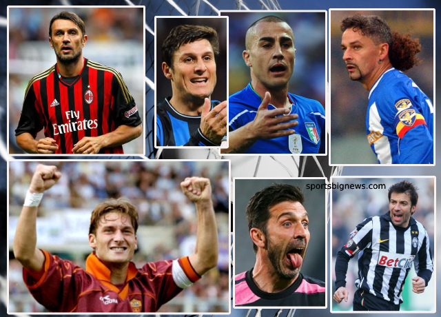 Top 10 greatest Serie A players of all time