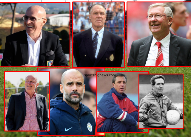 Top 10 greatest football managers of all time