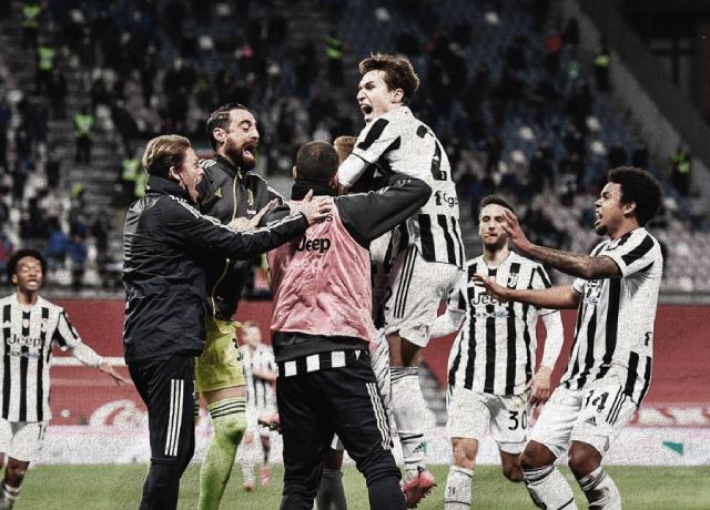 Juventus beat Atalanta 2–1 to win Coppa Italia Cup