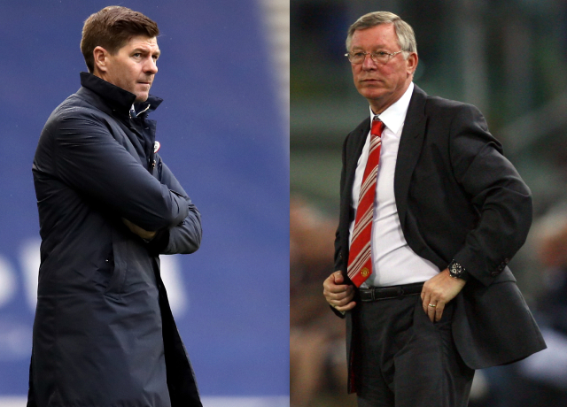 Sir Alex Ferguson praises Steven Gerrard's management skills