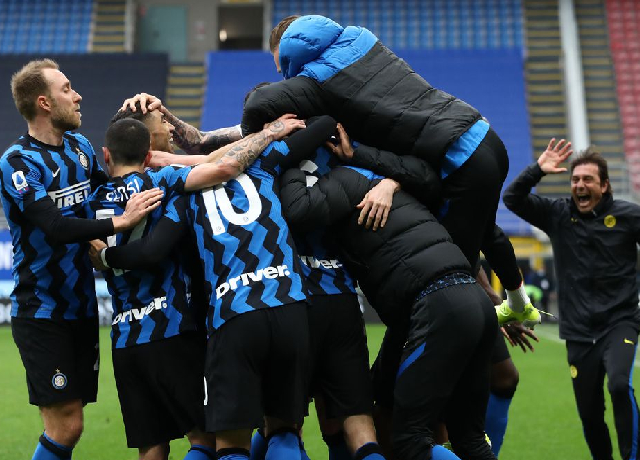 Inter Milan are the 2020/21 Serie A champions