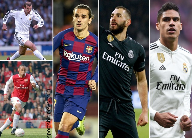 5 best French players in La Liga History