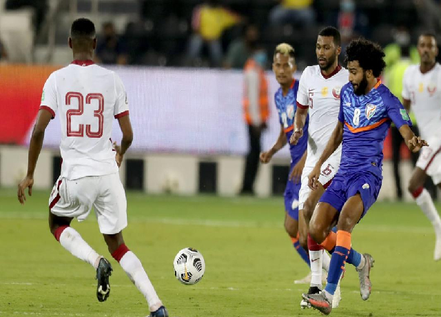 India loses a close match to Qatar; Gurpreet made a number of saves