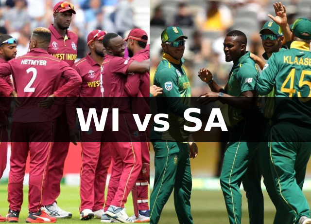 WI vs SA T20I Series