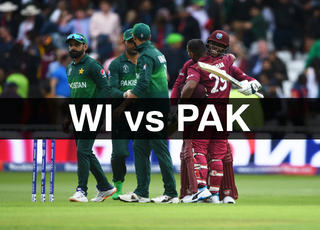 West Indies vs Pakistan: Schedule and How to watch live streaming online
