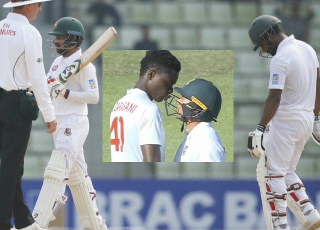 ZIM vs BAN: Fight between the players of both the teams, viral video