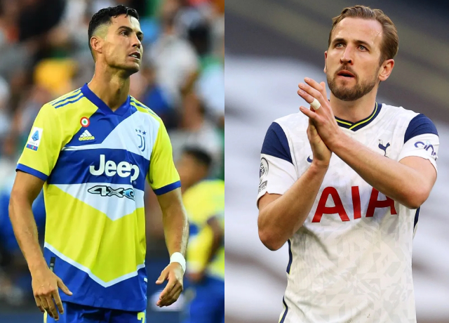 Man City Eyes On Ronaldo After Harry Kane Announced To Stay At Tottenham