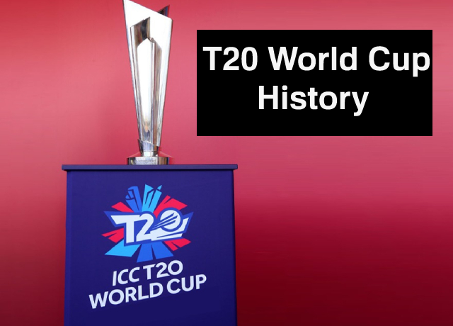 History of ICC Men's T20 Cricket World Cup