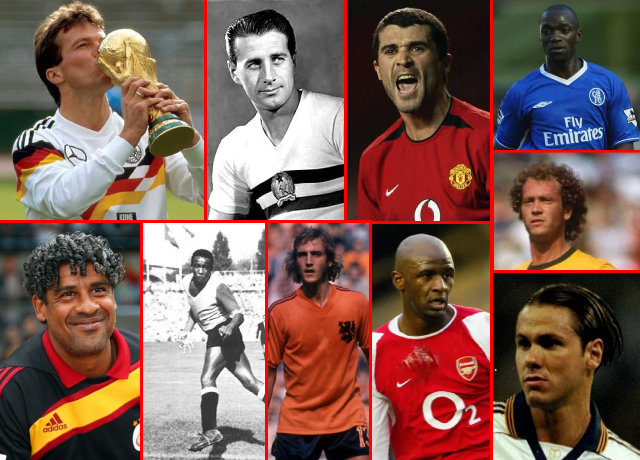 Top 10 Greatest Defensive-Midfielders of All Time