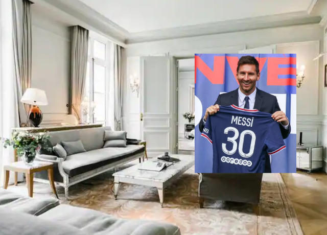 Lionel Messi is staying in this incredibly expensive hotel in Paris