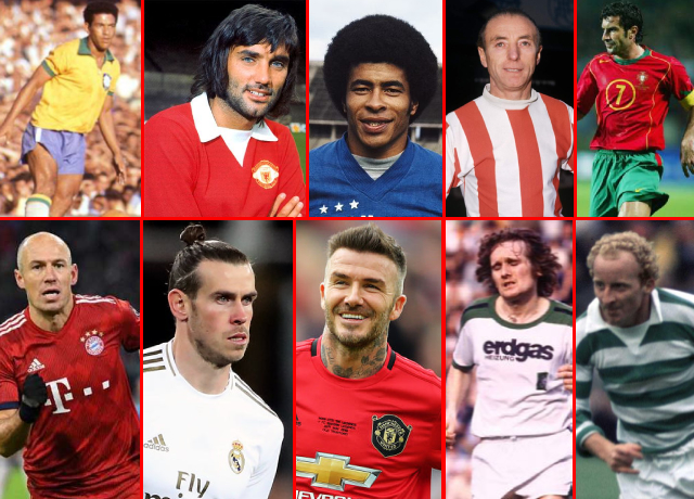 10 Greatest Right-Wingers Of All Time