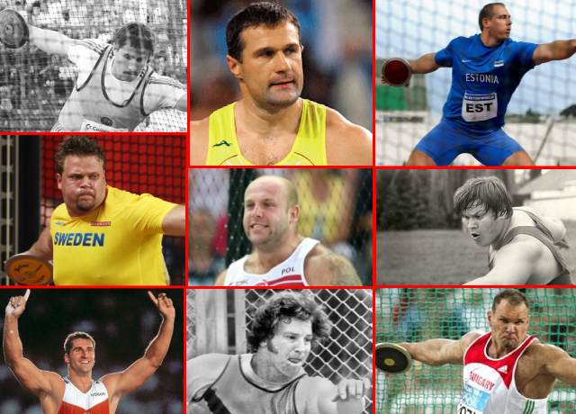 Top 10 Longest-Discus-Throw Record Holders In History