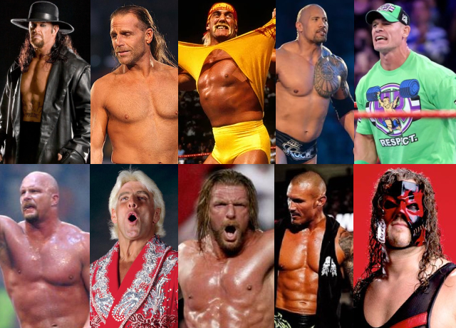 10 Greatest WWE Wrestlers Of All Time
