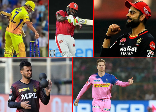 Top 5 richest cricketers in IPL 2021