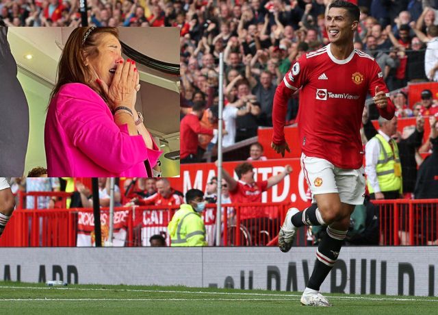 Cristiano Ronaldo's Mother Was Seen Crying Watching His Son On The Field