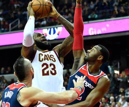 NBA Cavs vs Wizards