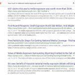 media exposure search