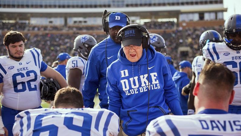 Duke football program 2019