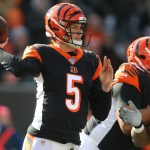 Begals odds before and after dalton announced as starter