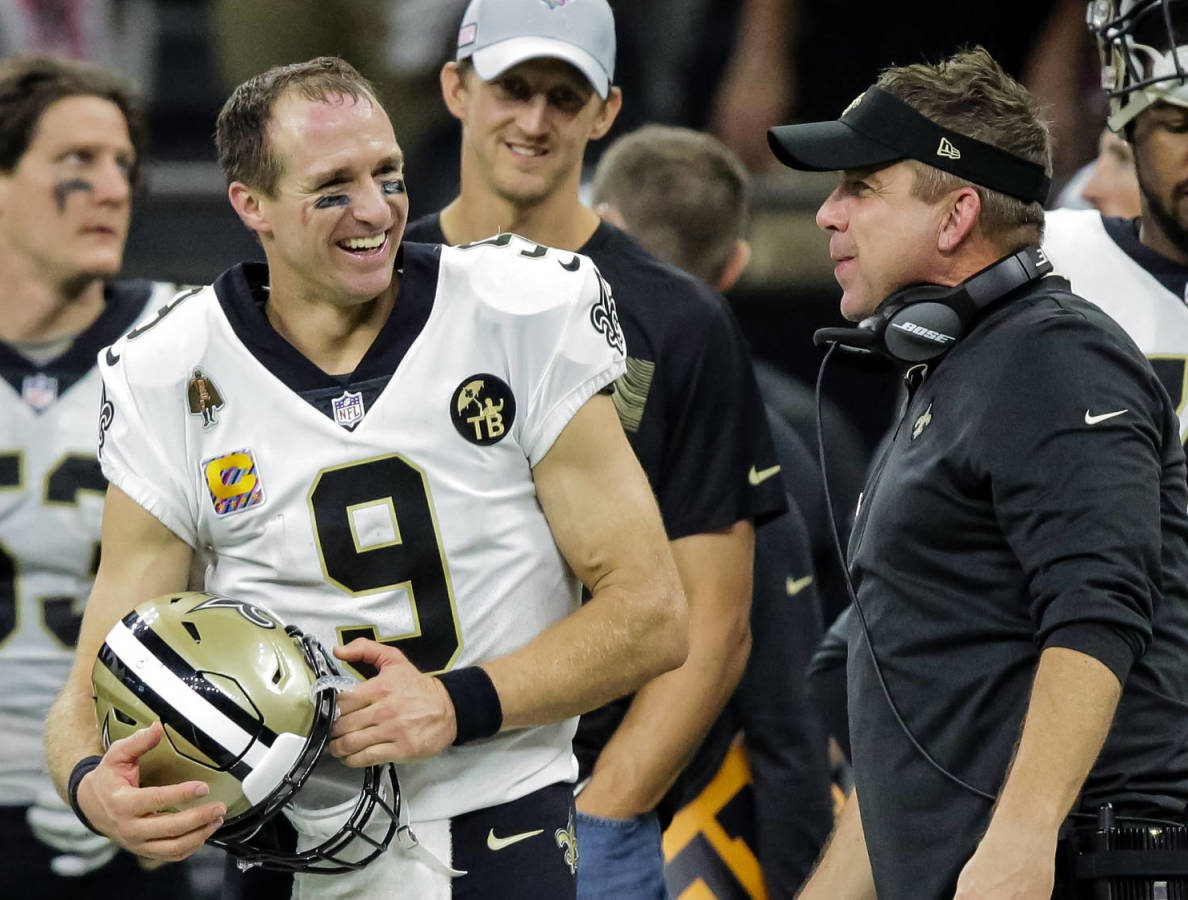 Brees and Saints take on The Bucs and Brady