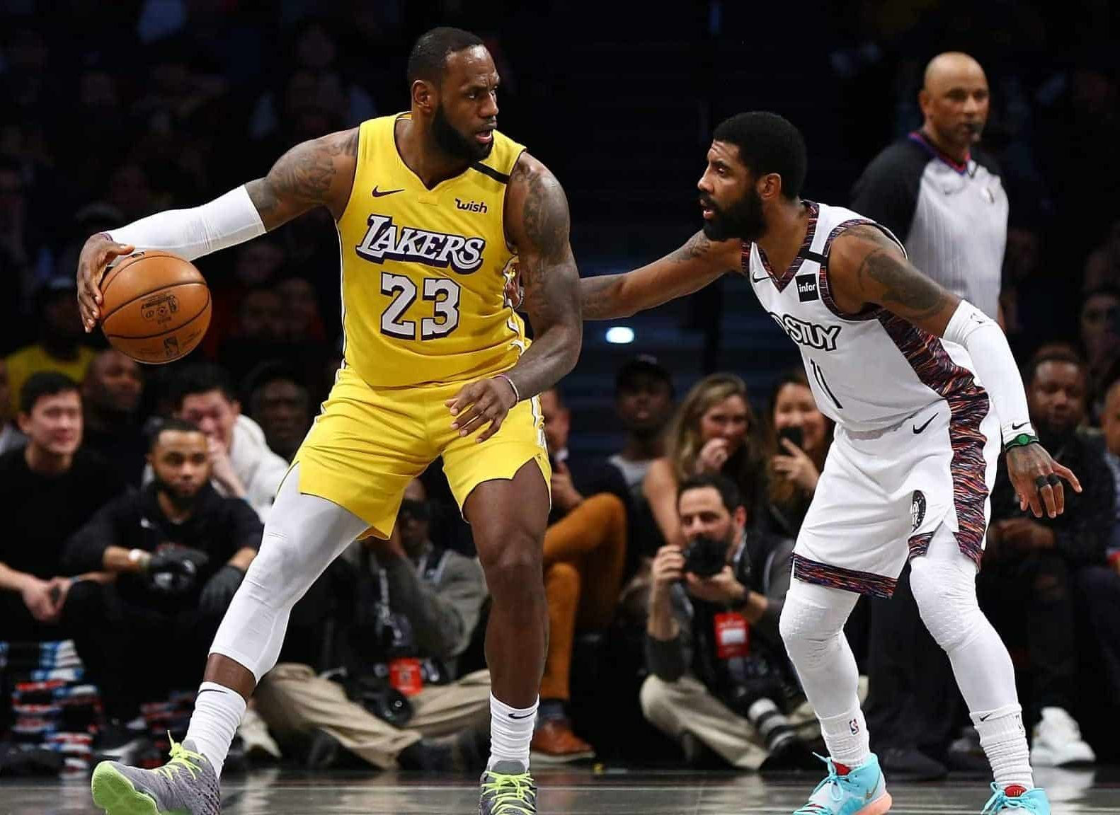 Possible finals preview - nets vs Lakers