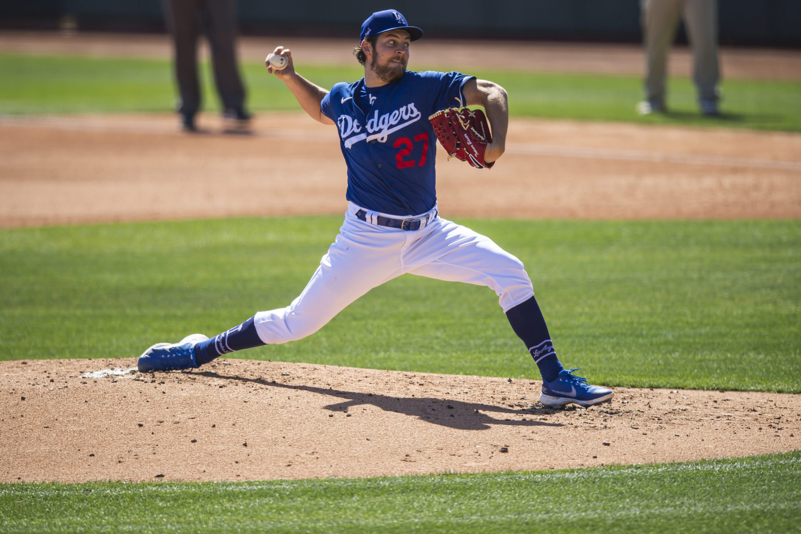 Bauer of the Dodgers are still favored
