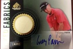 2014-SP-Game-Used-Golf-Memorabilia-Autograph-Inked-Fabrics-Corey-Pavin