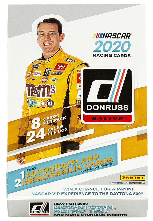 Panini America's NASCAR Cards Help Fill the Gap