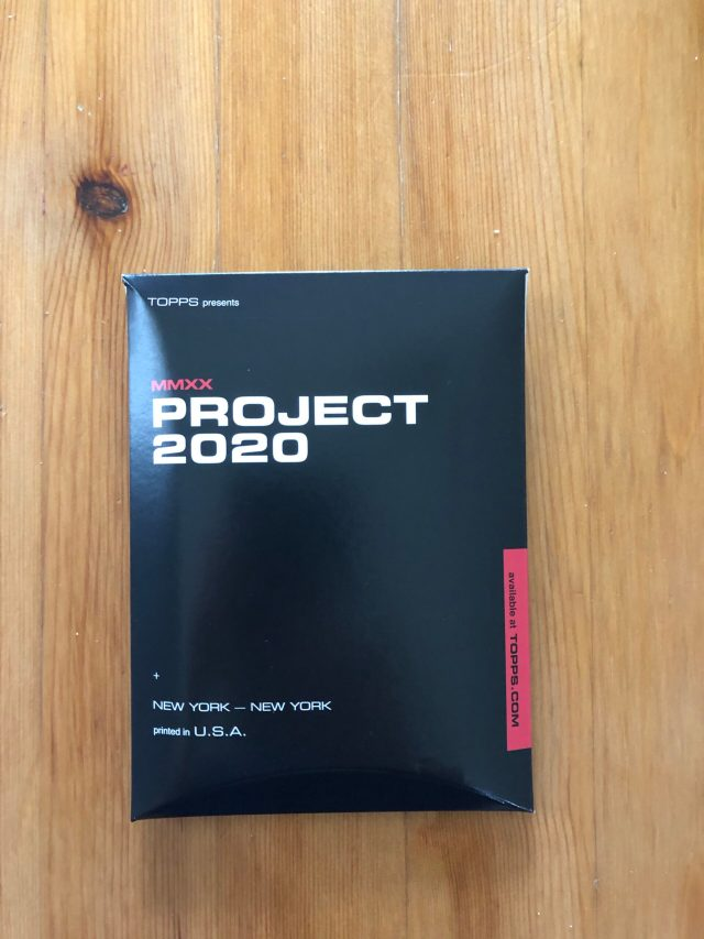 Topps Project 2020 Checklist & Print Runs