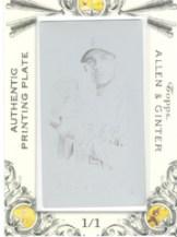 Topps Allen & Ginter Framed Printing Plates