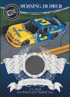 2011 Press Pass Racing Burning Rubber Memorabilia Card