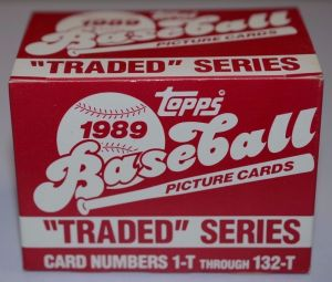 1989 Topps Traded Series Baseball Box Set