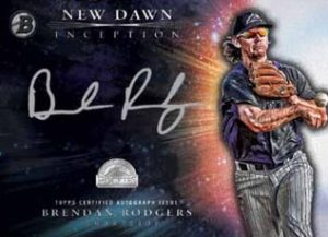2016 Bowman Inception Sell Sheet