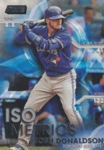 2016 Topps Stadium Club Baseball Isometrics Josh Donaldson