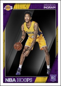 2016-17 NBA Hoops Brandon Ingram RC Card