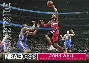 2016-17 Panini NBA Hoops Courtside John Wall