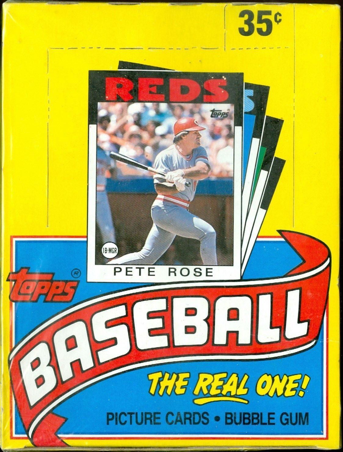1986 Topps Baseball Card Price Guide Sports Card Radio