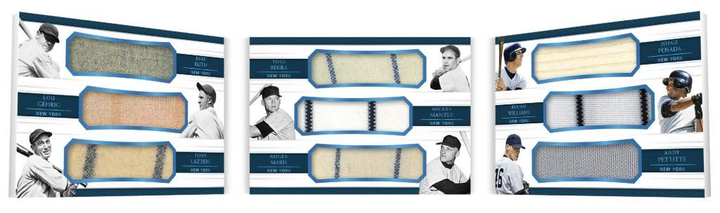 2018 Panini National Treasures Baseball Checklist Sports Card Radio