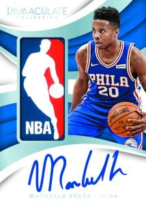 c500d4c1a1a Returning this year will be Dual Rookie Logoman Autographs which showcases  pairing from the star-studded 2017-18 NBA rookie class.
