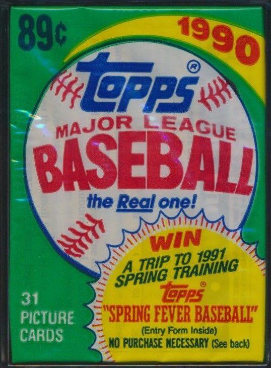 1990 Topps Baseball Card Price Guide Sports Card Radio