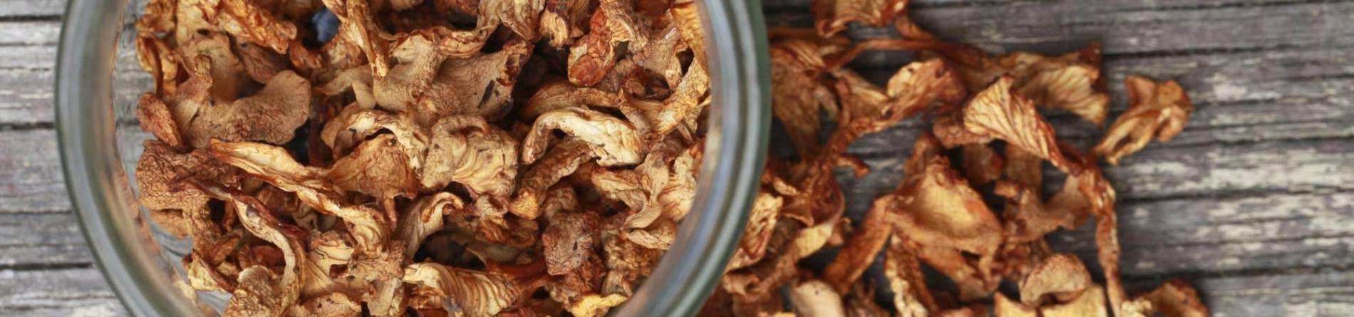 Types Of Dried Mushrooms