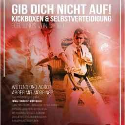Kickboxen und Selbstverteidigung zur Gewaltprävention bei Kindern und Jugendlichen.
