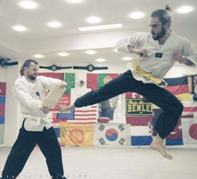 Taekwondopruefung Diamantis & Onur 2017-8260