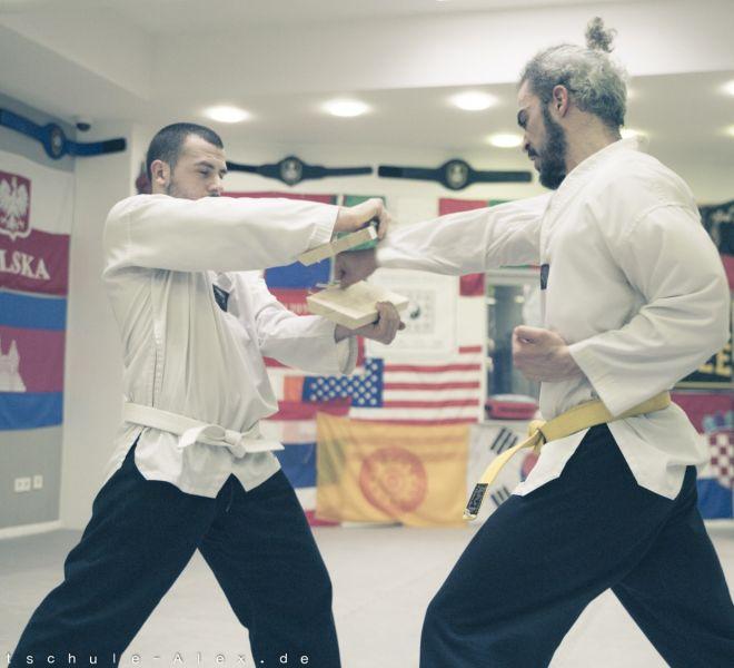 Taekwondopruefung Diamantis & Onur 2017-8262