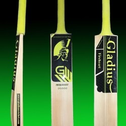 gladius fireheart english willow junior bat size 4 a132544