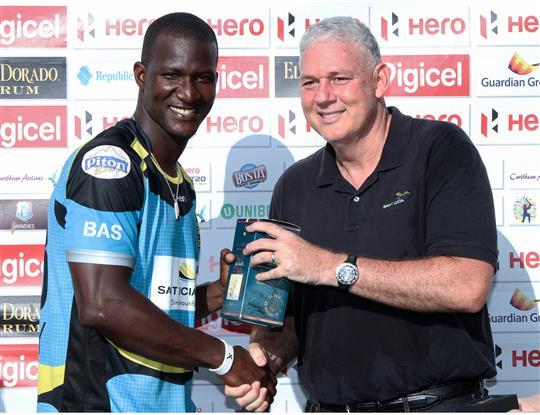 St Lucia Zouks v Barbados Tridents - Hero Caribbean Premier League – Match 22
