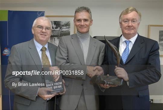 Announcement of the 2006 Boylesports Irish Sports Book of the Year Award